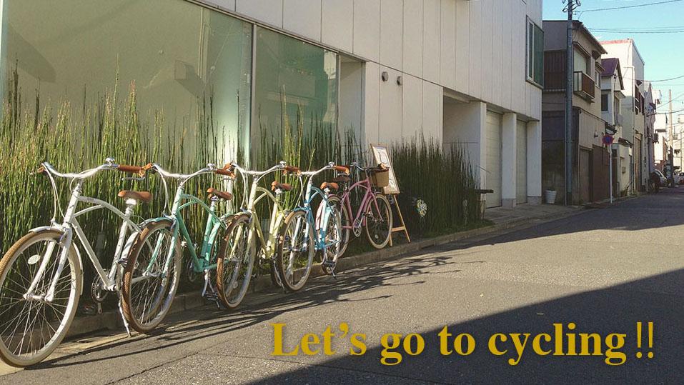 RENTAL CYCLE<br>好評実施中!||1日ワンコイン(500円)のレンタルサイクル。<br>オシャレでかわいいalohalocoオリジナル自転車でLet's go to cycling!