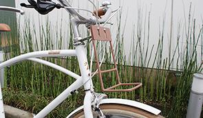 おしゃれな自転車かご「house of talents」